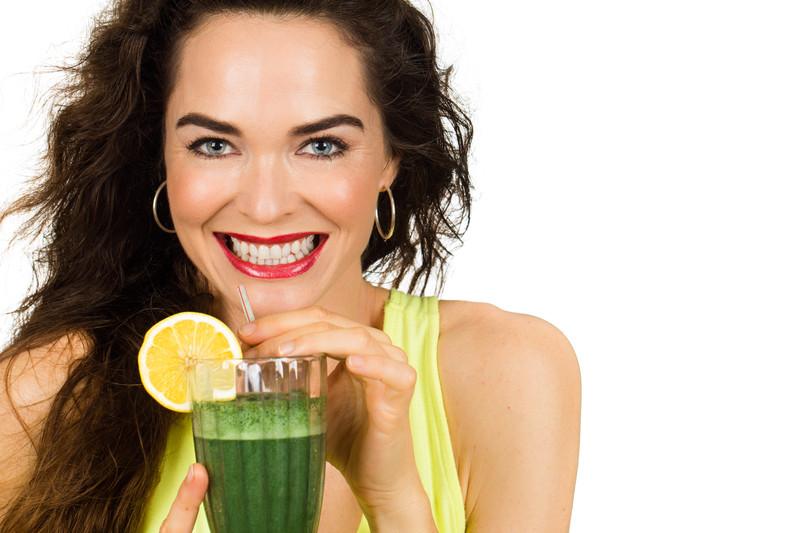 Detox blog woman